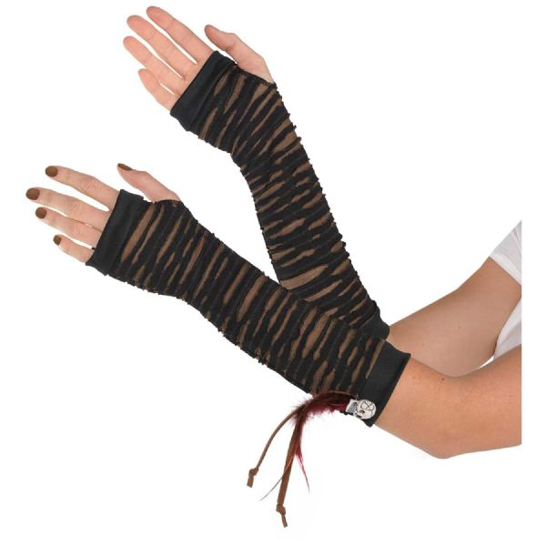 Witch Doctor Fingerless Gloves